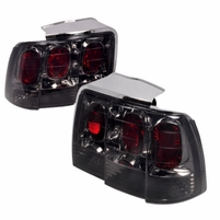 99-04 Ford Mustang Altezza Tail Lights Smoke