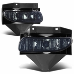 99-04 Ford Mustang GT OEM-Style Front Bumper Fog Lights - Smoked