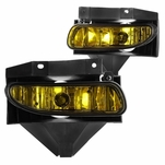 99-04 Ford Mustang OEM Style Fog Lights - Amber
