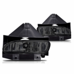 99-04 Ford Mustang OEM Style Fog Lights - Smoked
