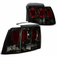 99-04 Ford Mustang Replace Altezza Tail Lights - Smoked