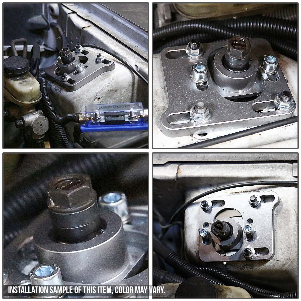 99-04 Ford Mustang With Power Steering Adjustable Camber ...