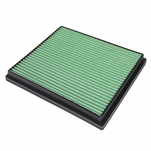 99-04 Jeep Grand Cherokee 4.0L 4.7L Green Washable Hi-Flow Air Filter Panel