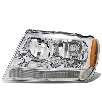 99-04 Jeep Grand Cherokee WJ Left OE Style Headlight Lamp Replacement CH2502120