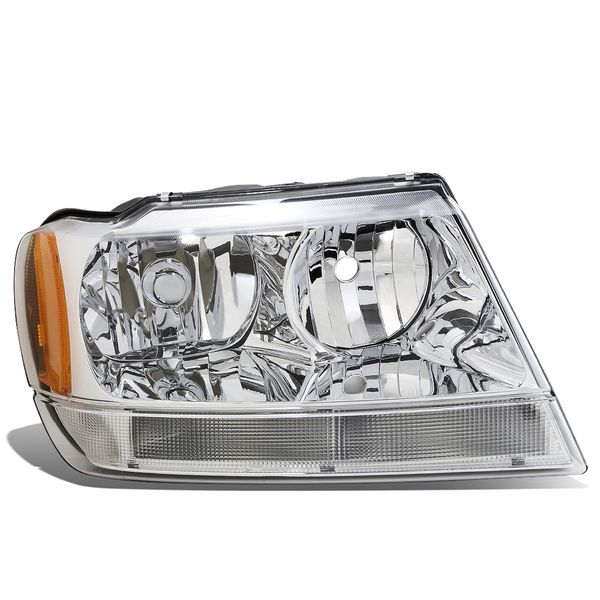 99-04 Jeep Grand Cherokee WJ Right OE Style Headlight Lamp Replacement CH2503120