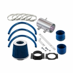 99-04 Nissan Frontier / Xterra V6 & Supercharged Short Ram Air Intake Kit - Blue