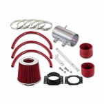 99-04 Nissan Frontier / Xterra V6 & Supercharged Short Ram Air Intake Kit - Red