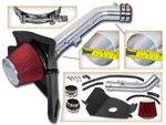99-04 Toyota Tacoma / 99-02 4Runner 3.4L V6 Heat Shield Air Intake Kit - Red