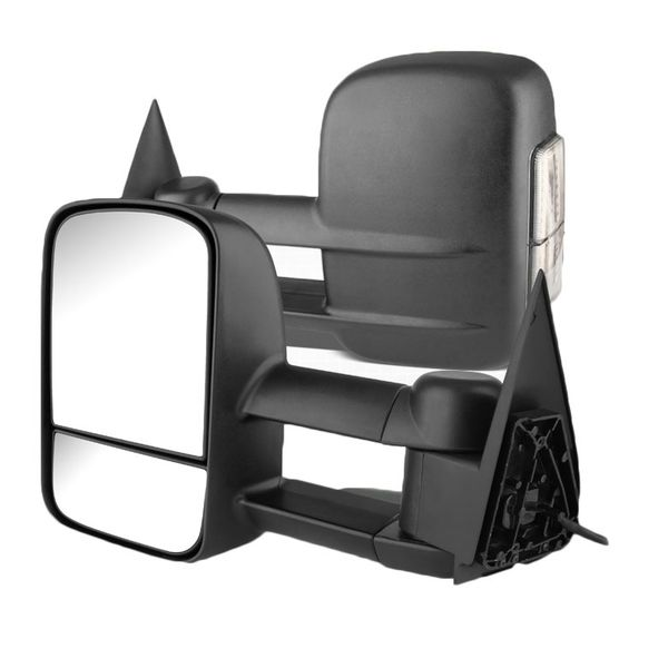 99-06 Chevy Silverado / Sierra Extended Manual Side Towing Mirrors (LED Signal)