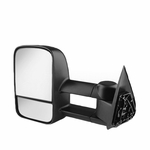 99-06 Chevy Silverado / Sierra / Suburban / Tahoe Manual Adjustable Extended Towing Side Mirror - Driver Side