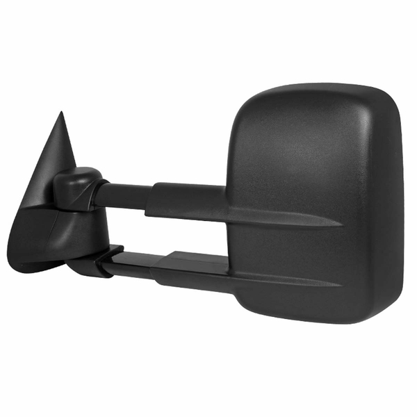 1999-2007 Chevy Silverado GMC Sierra Pickup Manual Extending Towing Mirror Left - Driver Side