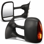 99-07 Ford F250-F550 SuperDuty [Power|Heated|LED] Telescoping Tow Mirrors - Pair