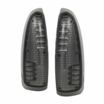99-07 Ford F250 F350 Superduty Tow Mirror LED Side Marker Signal Lights - Smoked