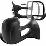 99-07 Ford F250-F550 [Power Adjust Heated] Telescoping Towing Side Mirror