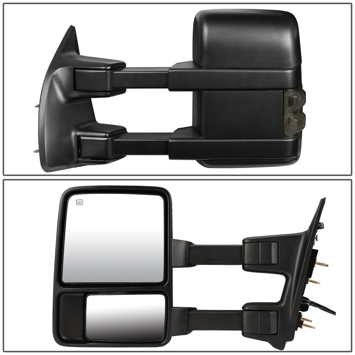 99-07 F250 F350 F450 F550 Super Duty Power Heated Towing Extend Side Mirrors