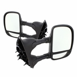 99-07  Ford F250-F550 Super Duty Manual Adjust Towing Mirror - Pair