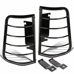 99-07 Ford F250-F550 Superduty Black Coated Steel Tail Light/Lamp Guard+Mounting Kit