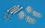 99-12 Chevy / GMC 1500 Silverado Sierra Front Caster Alignment Camber Plate Bolt Kit