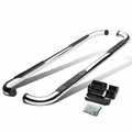 """99-16 Chevy Silverado / GMC Sierra [Extended / Double Cab] 3"""" Side Step Nerf Bar - Polished"""