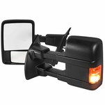 99-16 Ford F250-550 Superduty [Manual Adjust / Non-Heated] LED Signal Towing Mirror