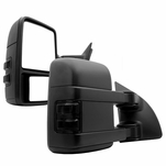 99-16 Ford F250-550 Superduty [Manual Adjust / Non-Heated] LED Signal Towing Mirror Smoked