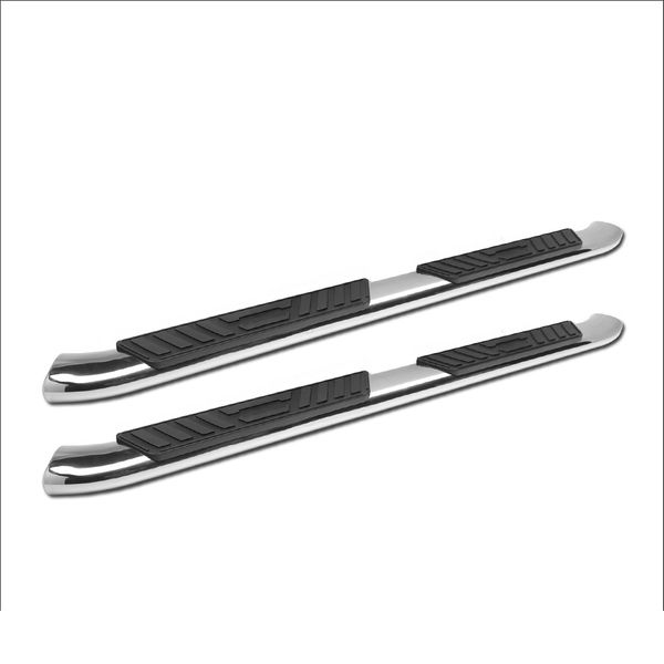 "99-16 Ford F250 / F350 / F450 / F550 Superduty Super (Extended) Cab 5"" Oval Polished Side Step Nerf Bars Rail Running Boards"