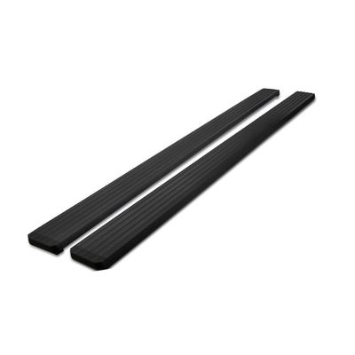 "99-16 Ford F250 F350 F450 SuperDuty SuperCrew Cab 5"" Black Aluminum Side Step Bar"