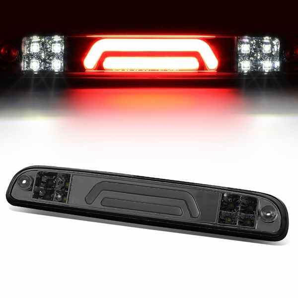 99-16 Ford F250-F550 SuperDuty 3D-Style LED Tube 3rd Brake Light - Smoked