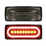 99-16 Mercedes W463 G500 G550 Sequential LED Tail Lights Smoked Lens