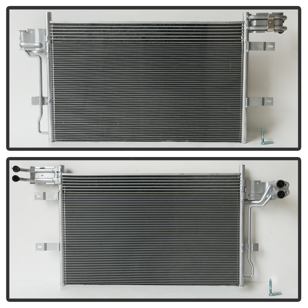Radiator /& A//C Condenser Kit for Ford Taurus Lincoln MKS