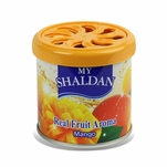 AIR FRESHENER - MY SHALDAN - 80G ROUND CAN - MANGO - V6(ADJUSTABLE)