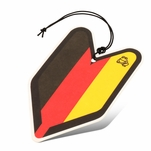 Air Freshener - Tree Frog - Paper Hanging - German Flag - Young Leaf - New Car Scent