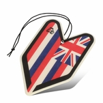 Air Freshener - Tree Frog - Paper Hanging - Hawaii Flag - Young Leaf - Squash Scent