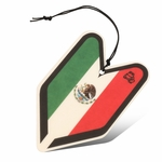 Air Freshener - Tree Frog - Paper Hanging - Mexico Flag - Young Leaf - New Car Scent