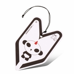 Air Freshener - Tree Frog - Paper Hanging - Panda - Young Leaf - Cool Squash Scent