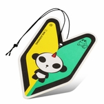 Air Freshener - Tree Frog - Paper Hanging - Panda - Young Leaf - Midnight Squash Scent