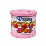AIR FRESHENER - TREEFROG - 80G GEL - ROUND CAN - PEACH SCENT