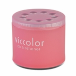 Air Freshener - Viccolor - 85G Mini Gel Can - Peach & Kiss Scent