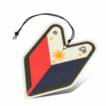 Air Freshener - Young Leaf - Paper Hanging - Filipino Flag - Sampaguita Jasmine