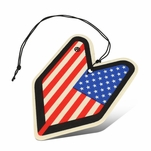 Air Freshener - Young Leaf - Paper Hanging - Jdm New Driver - Cherry Squash Scent
