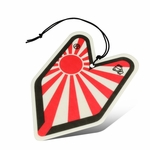 Air Freshener - Young Leaf - Paper Hanging - Rising Sun - White Peach