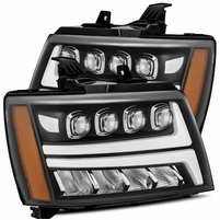 Alpha Rex NOVA-Series 2007-2013 Chevy Tahoe Projector Headlights - Black