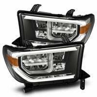 07-13 Toyota Tundra / 08-17 Sequoia Full LED Headlights - Black