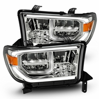 07-13 Toyota Tundra / 08-17 Sequoia Full LED Headlights - Chrome