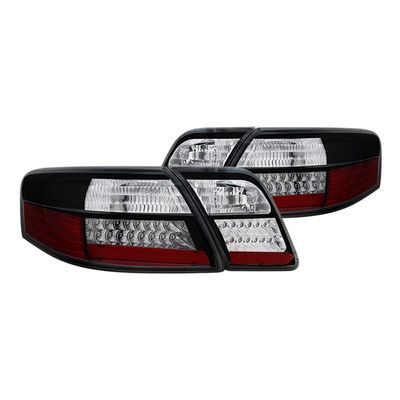 (ANZO) 07-09 Toyota Camry Euro Style LED Tail Lights - Black