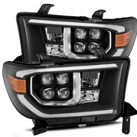 Alpha Rex NOVA-Series 2007-2013 Toyota Tundra Projector Headlights - Black