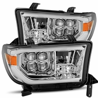 Alpha Rex NOVA-Series 2007-2013 Toyota Tundra Projector Headlights - Chrome