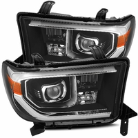 Alpha Rex PRO-Series 2007-2013 Toyota Tundra Projector Headlights - Black