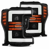 AREX (PRO-Series) 2017-2019 Ford Super Duty Projector Headlights - Black
