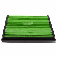 Audi A4 / A6 / S4 / S6 / VW Passat Reusable & Washable Replacement High Flow Drop-in Air Filter (Green)